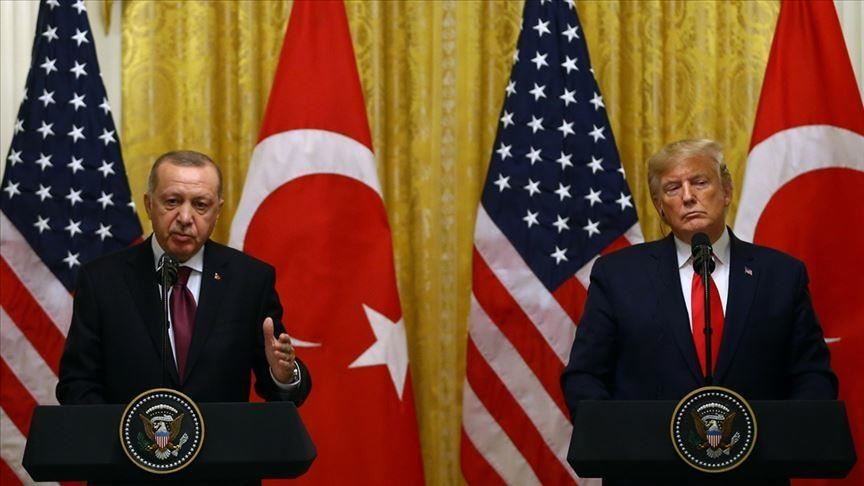 Turkish, US leaders discuss cooperation amid pandemic