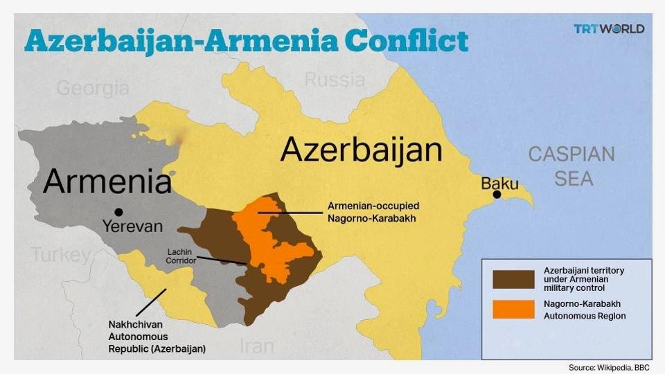 Calls grow for Azerbaijan, Armenia to end fighting over occupied Karabakh