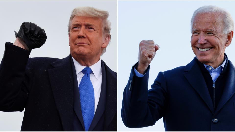 Trump vs Biden: US awaits presidential election results